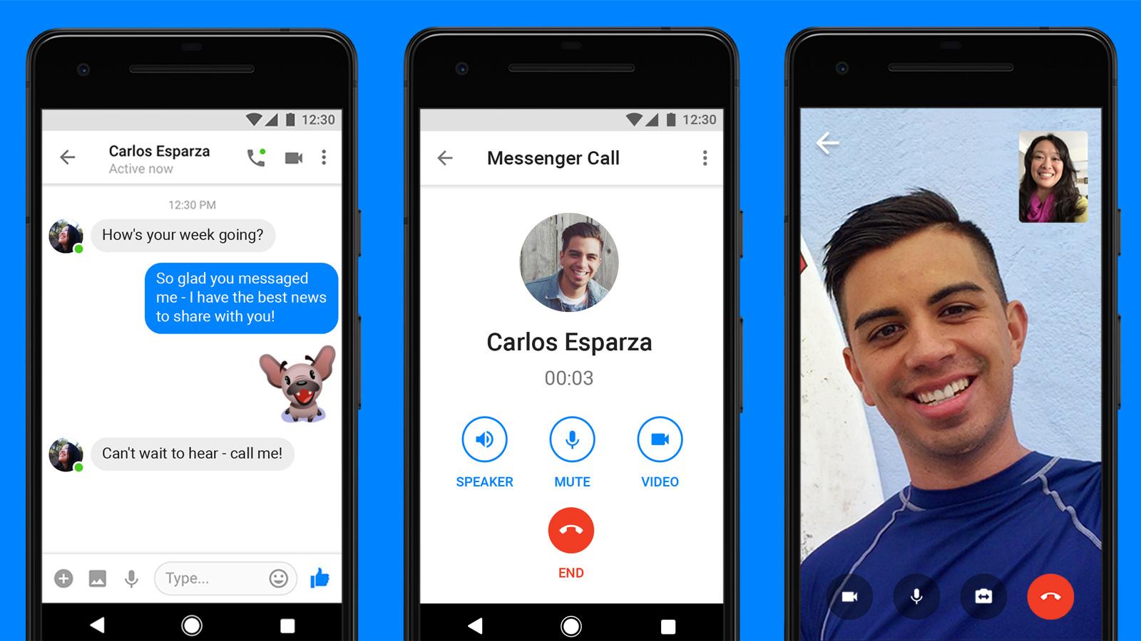 أعلنت شبكة التواصل الاجتماعي فيسبوك مؤخرا بأنها ستتيح ميزة مكالمات الفيديو  لتطبيق التراسل الفوري التابع لها،