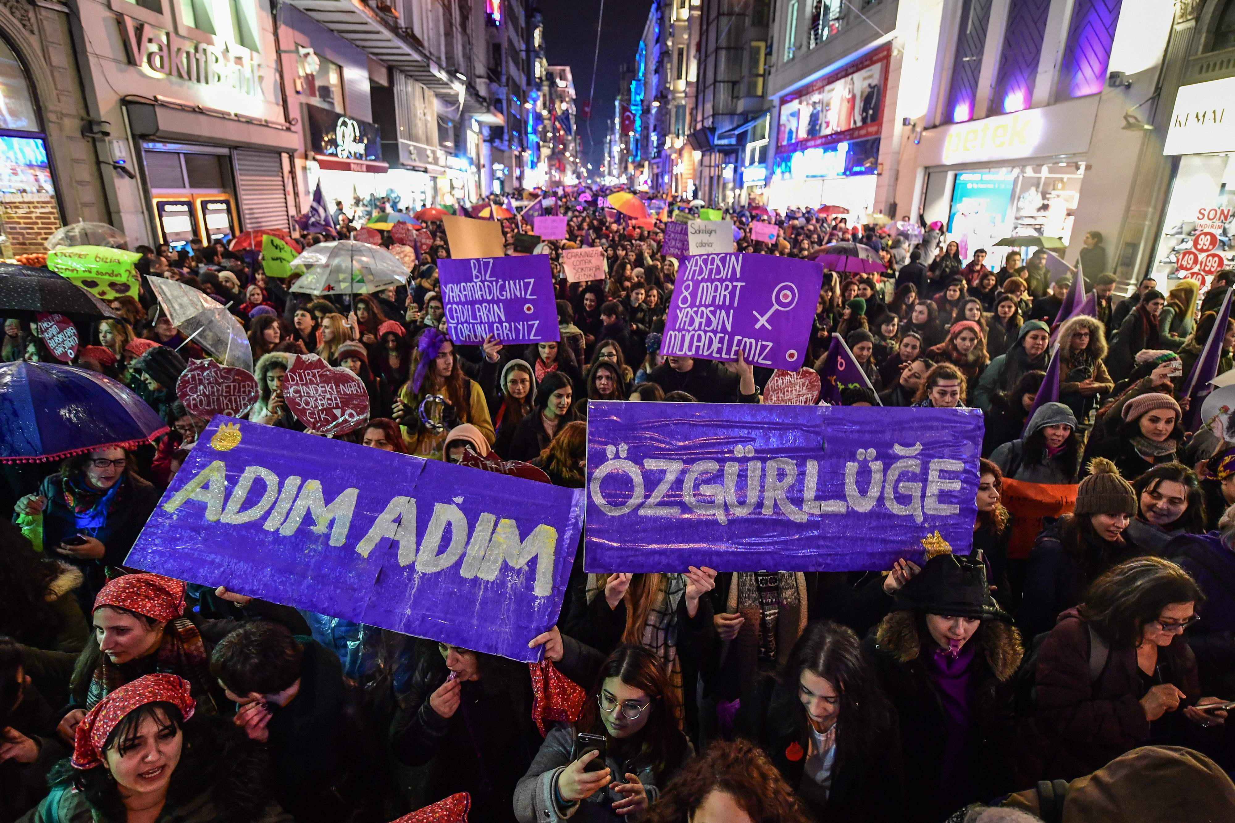 تظاهرات إسطنبول