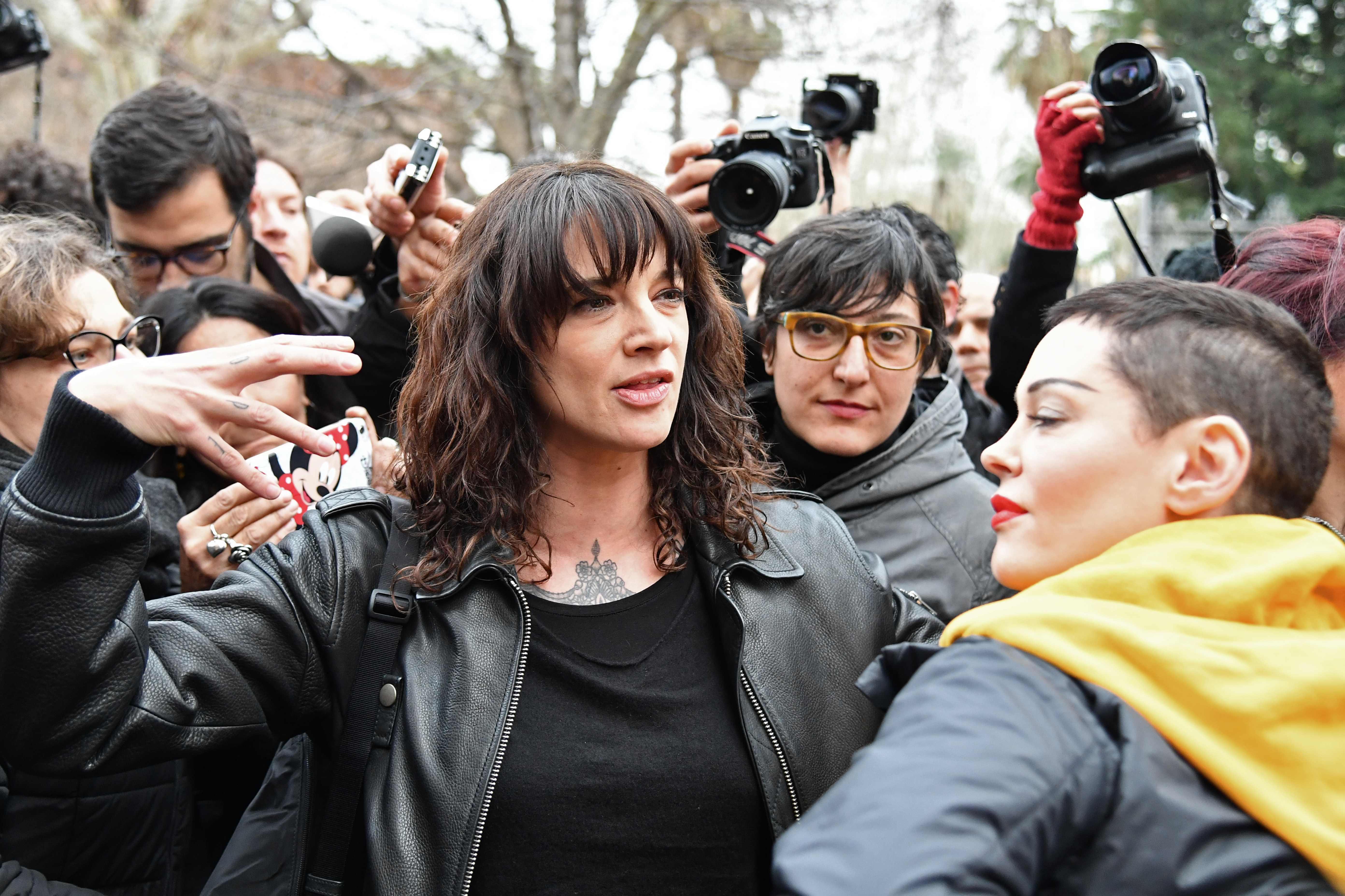 نساء إيطاليا خلال التظاهرات