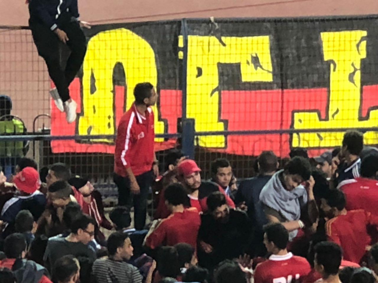 اولتراس  اهلاوى فى ستاد القاهرة