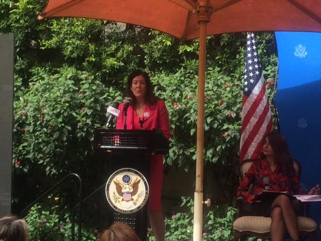 دوروثى شيا نائب رئيس البعثة الدبلوماسية الأمريكية فى القاهرة