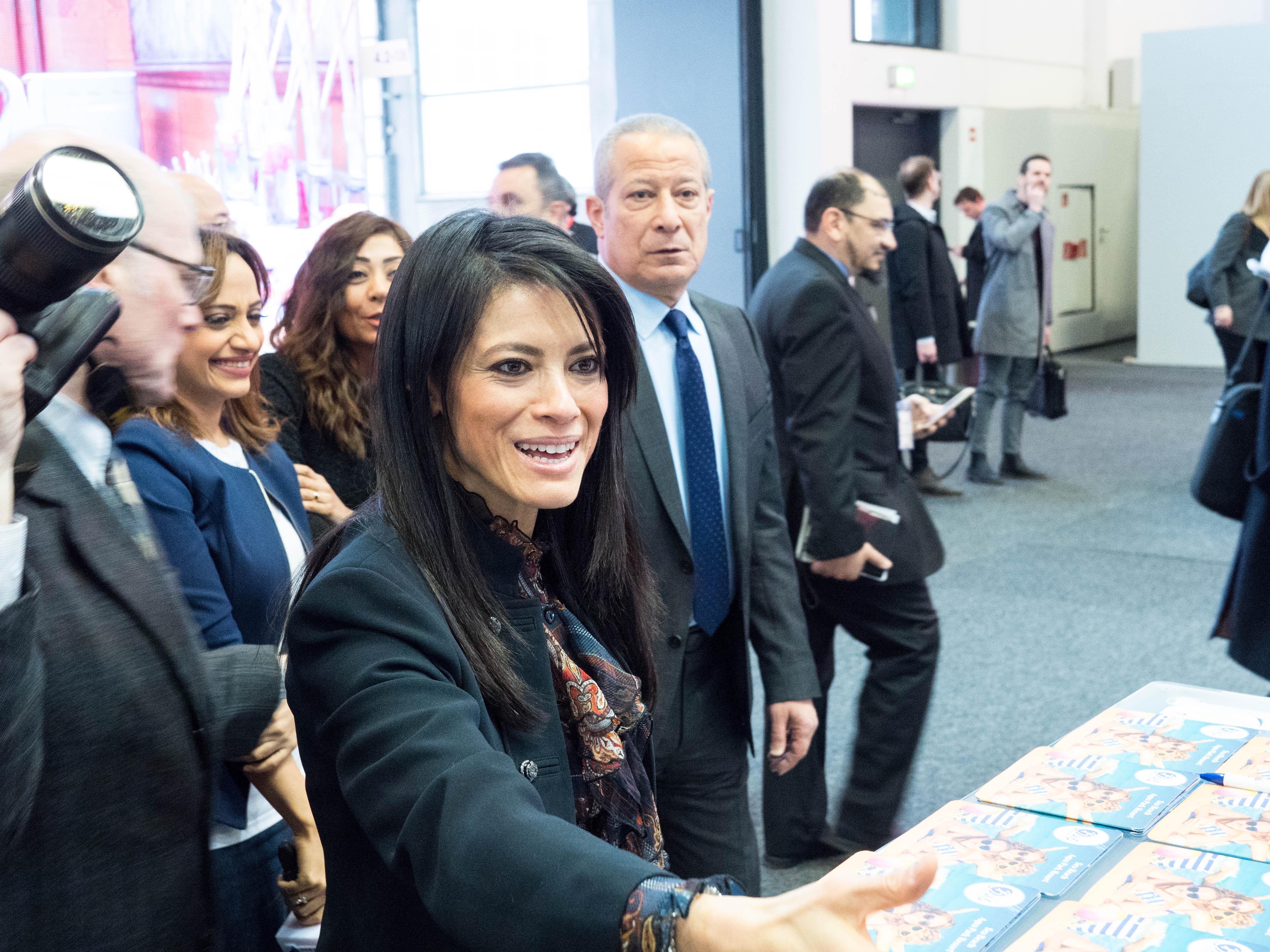 رانيا المشاط تواصل لقائتها مع صناع القرار