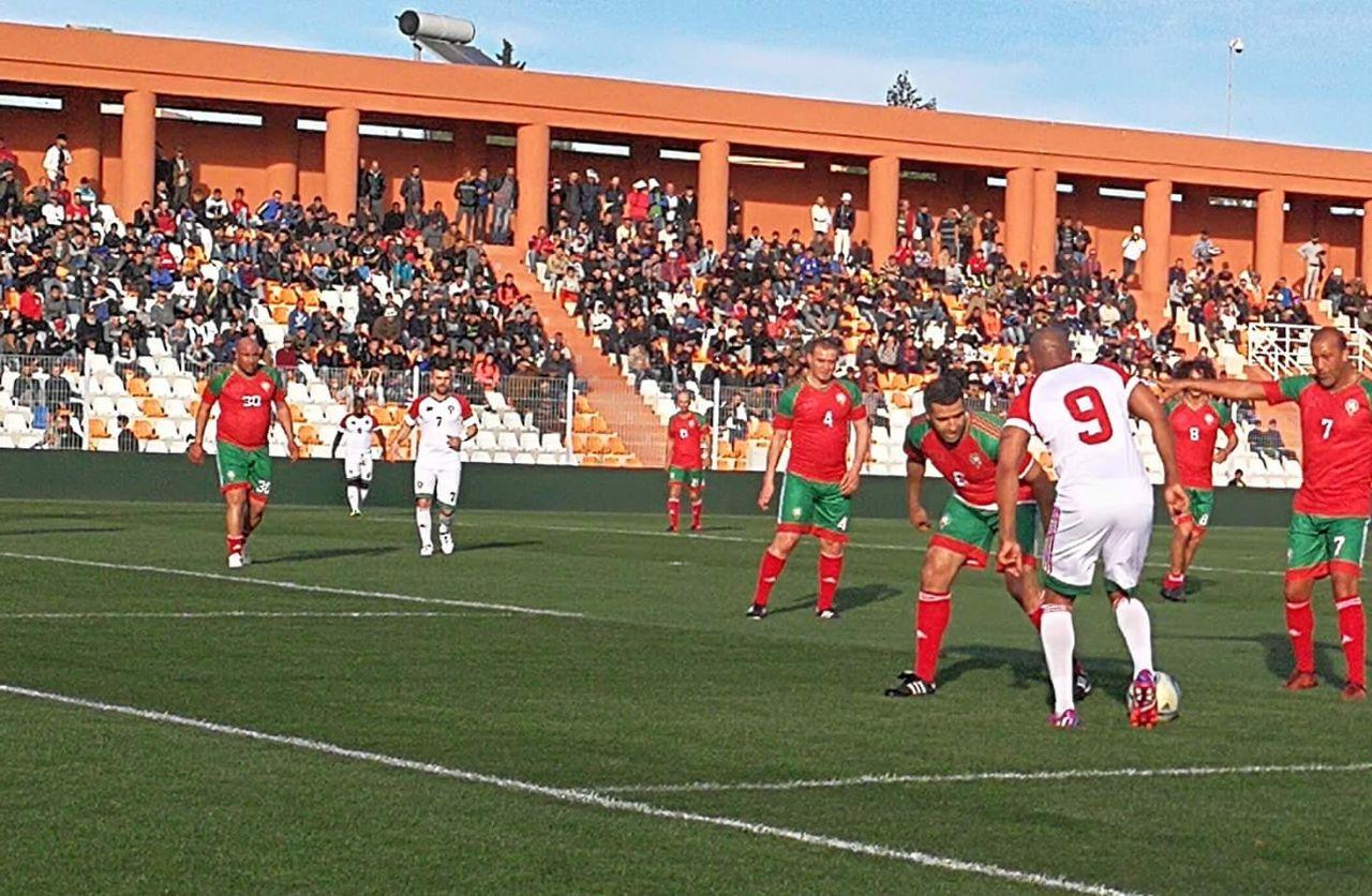 مباراة نجوم المغرب