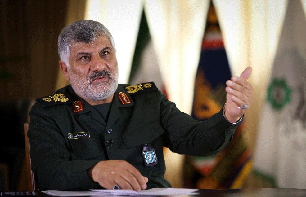 قائد إيران مقر خاتم الانبياء