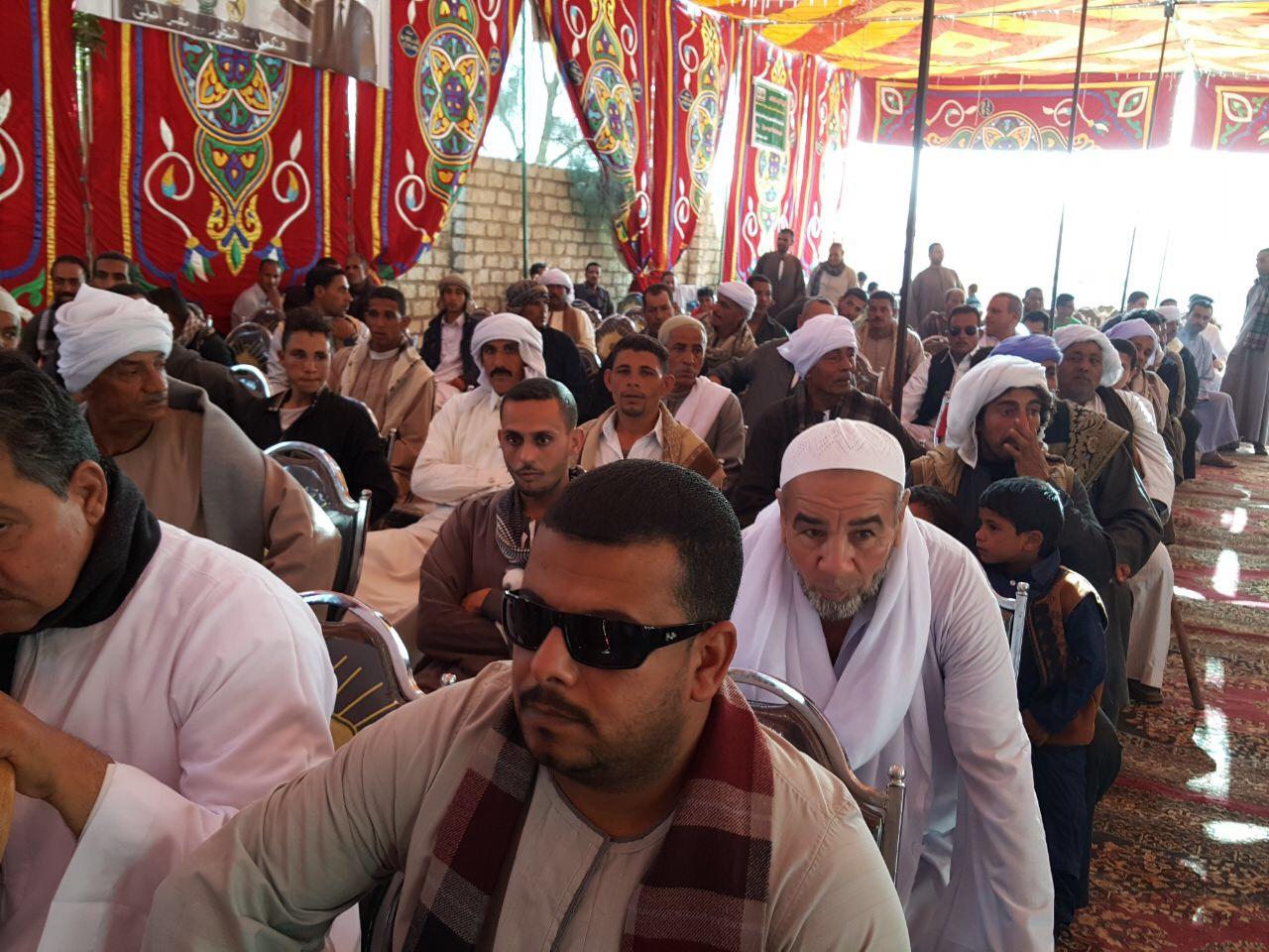 مؤتمر دعم موسى مصطفى موسى فى قرية عرب كريم بأسيوط