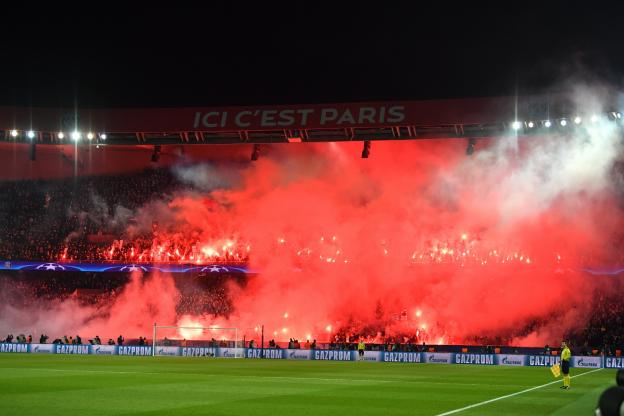 جماهير باريس سان جيرمان أمام ريال مدريد