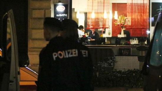 وصول الشرطة إلى محيط عملية الطعن