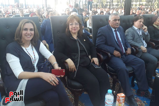 مؤتمر دعم السيسى فى الشرقيه (5)