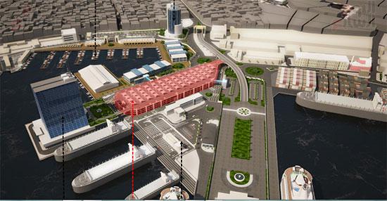 مشروع إنشاء جراج متعدد الطوابق بميناء الإسكندرية (1)