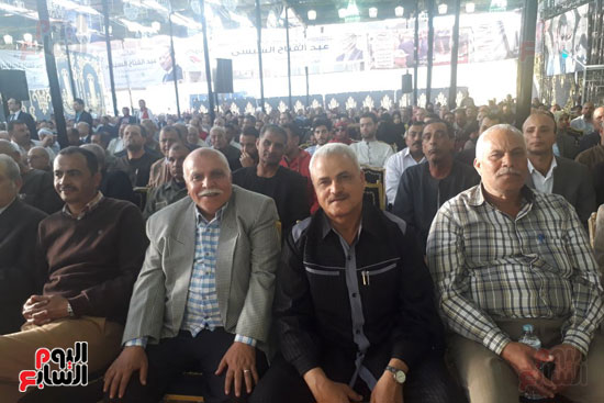 مؤتمر دعم السيسى فى الشرقيه (1)