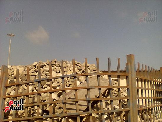 مشروع إنشاء جراج متعدد الطوابق بميناء الإسكندرية (12)