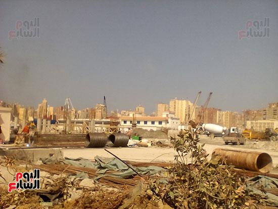 مشروع إنشاء جراج متعدد الطوابق بميناء الإسكندرية (3)