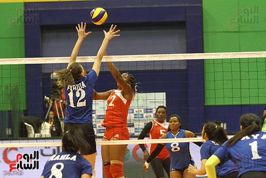 سيدات الأهلى يهزمن بطل رواندا فى البطولة الأفريقية للطائرة (19)