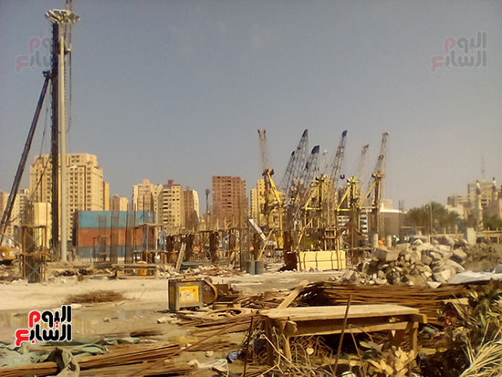 مشروع إنشاء جراج متعدد الطوابق بميناء الإسكندرية (2)