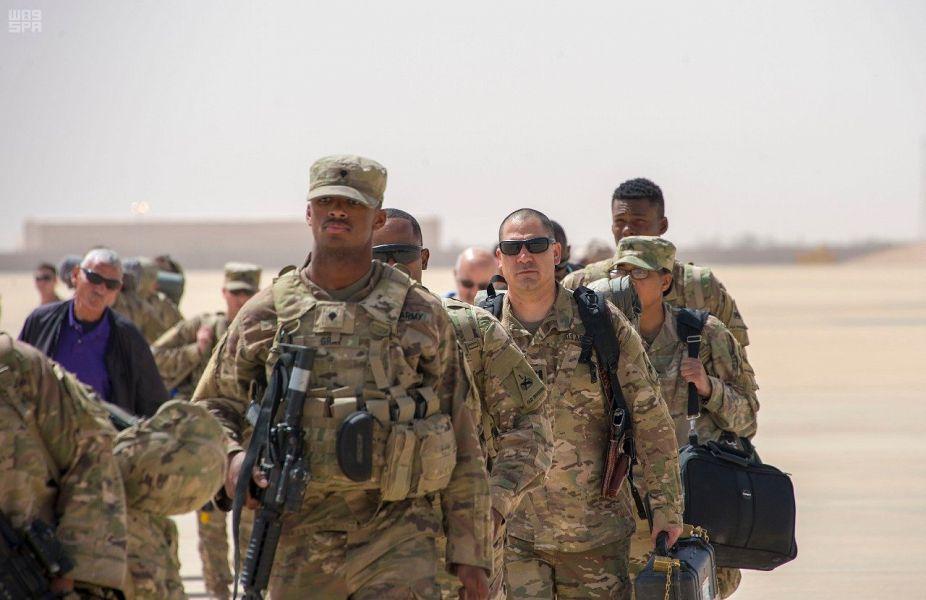 صول القوات الأمريكية للسعودية