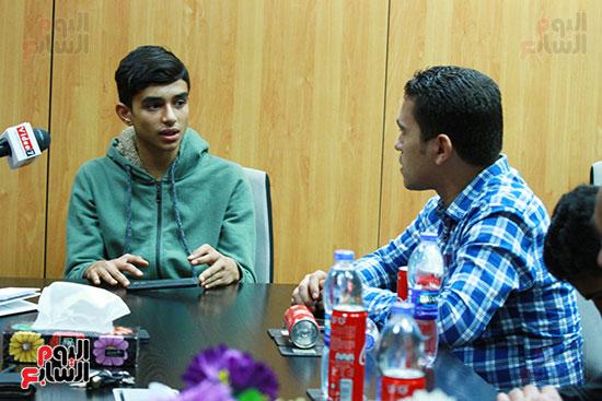 خالد الفايد نجم ذا فويس كيدز (2)