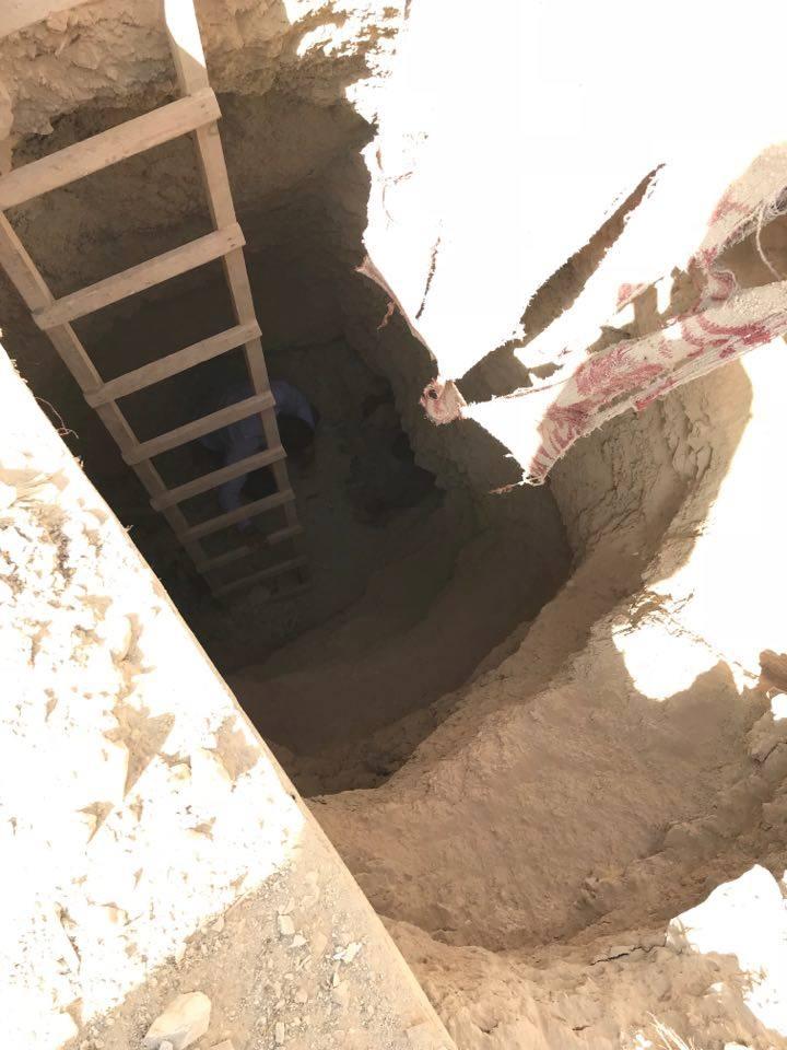 سقوط رقيب شرطة لقيامه بالتنقيب عن الآثار أسفل منزله بإسنا