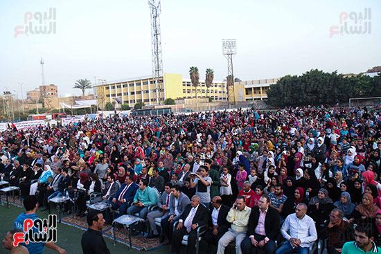 مؤتمر لدعم السيسى فى الحوامديه (29)