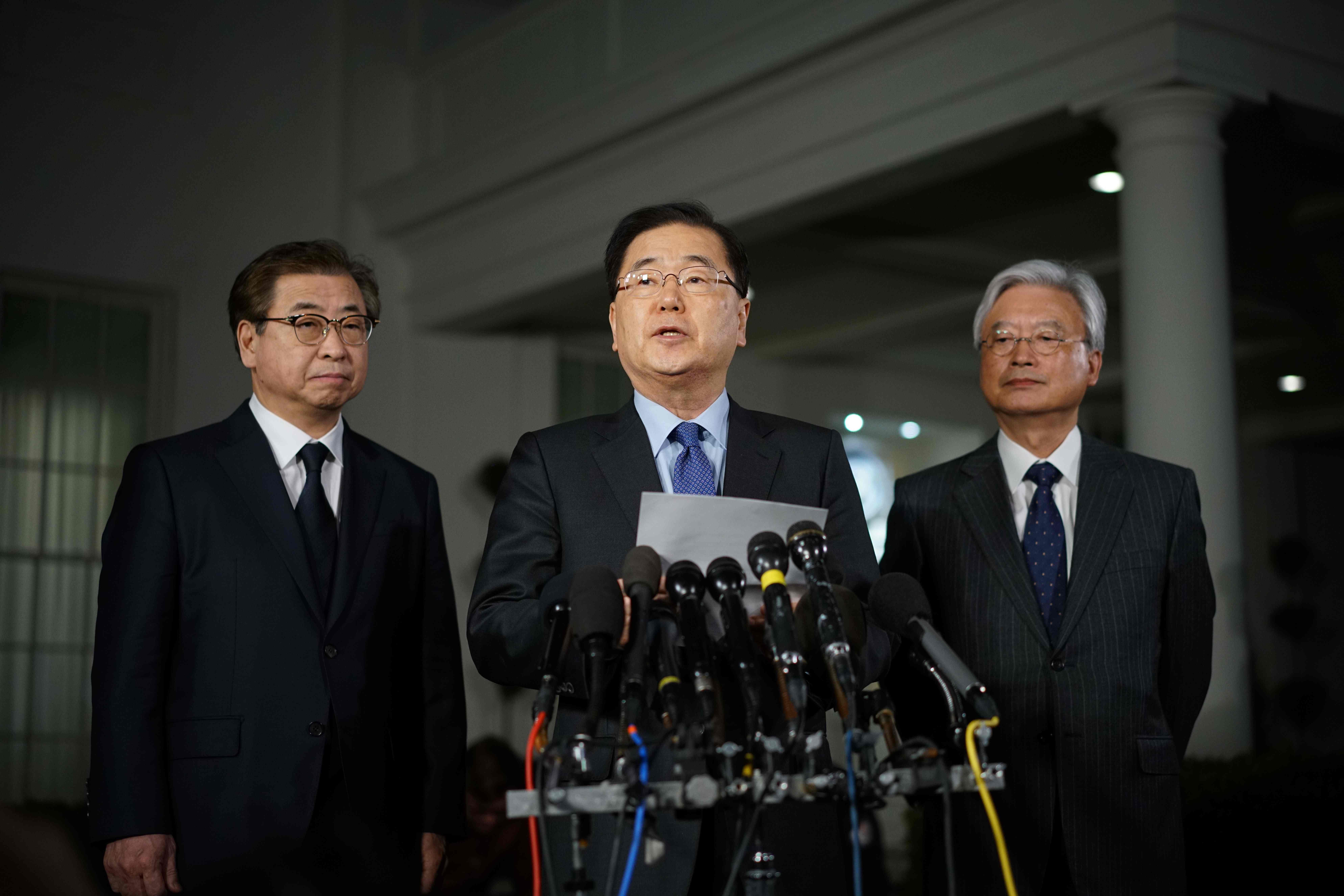 مستشار الأمن القومي الكوري الجنوبي تشونغ إيوي يونغ