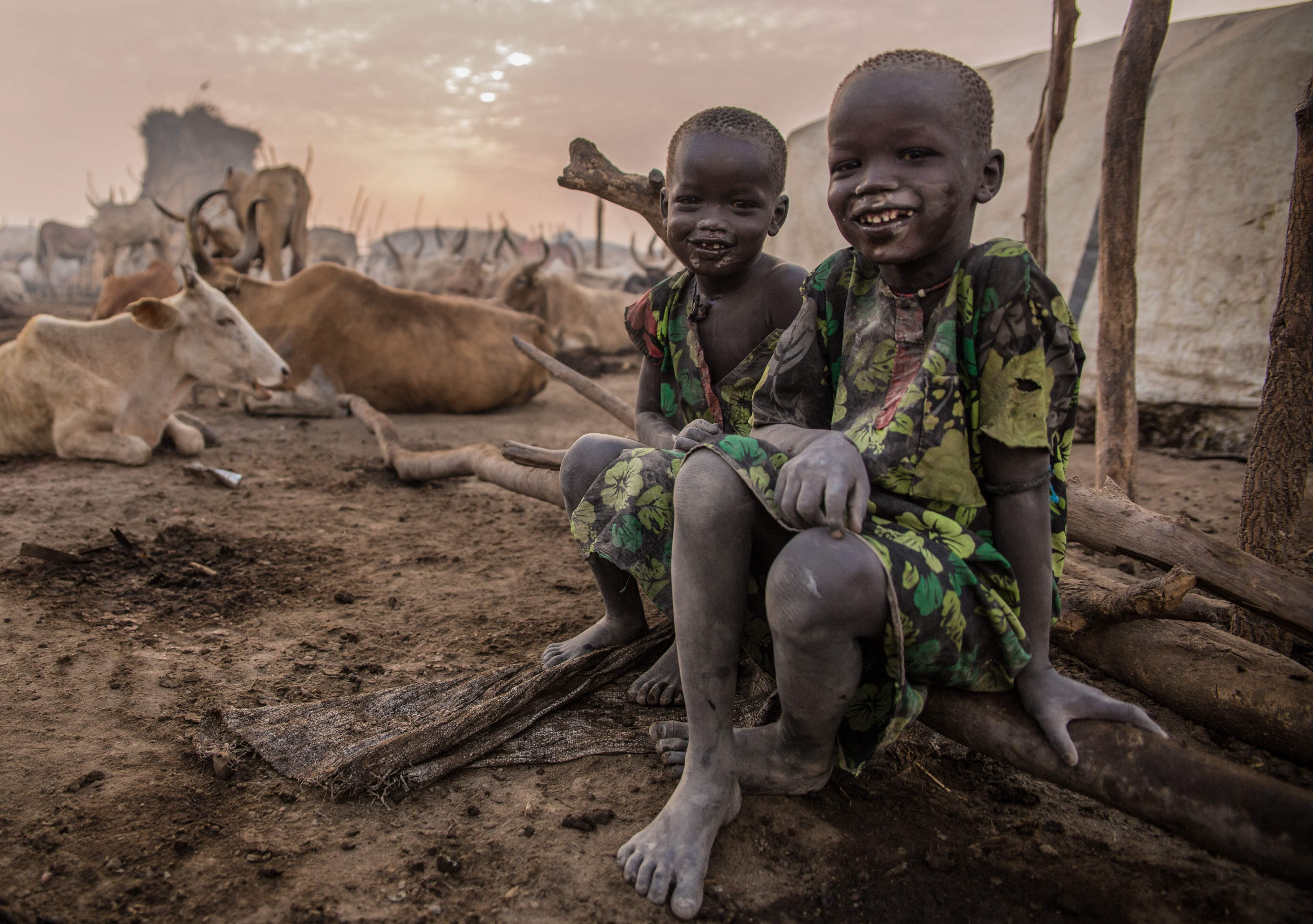 أطفال جنوب السودان