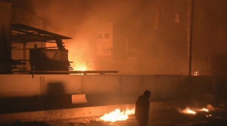 حريق بمصنع فى الهند