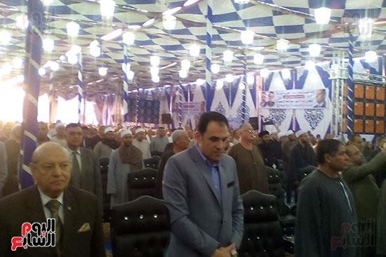 الآلاف فى حضور مؤتمرات دعم الرئيس السيسي
