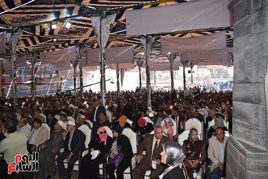 مؤتمرات دعم الرئيس عبد الفتاح السيسى تتنتشر بمحافظة مصر