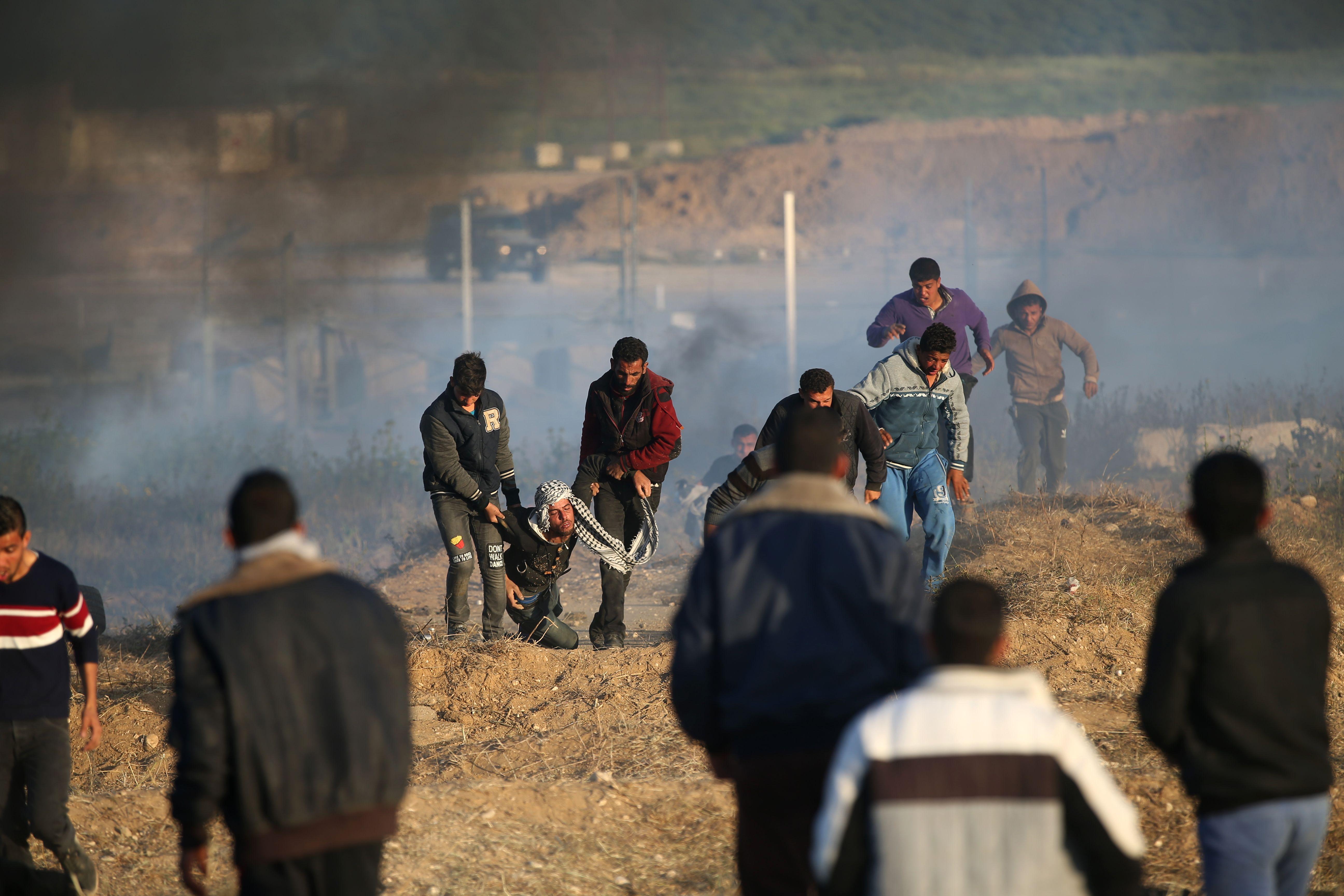 عنف الاحتلال على حدود غزة