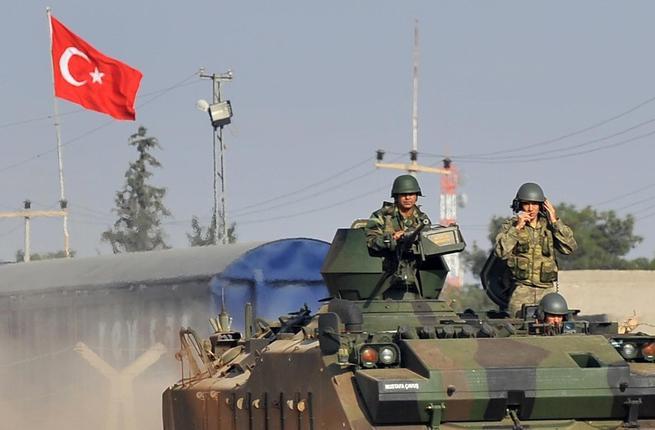 القوات التركية على حدود العراق