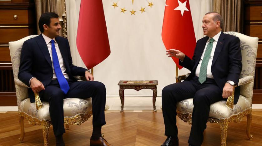 اردوغان يبتز تميم لدعمه أمام الرباعى العربى