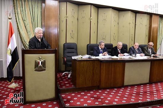 صور لجنة الشئون التشريعية والدستورية (2)
