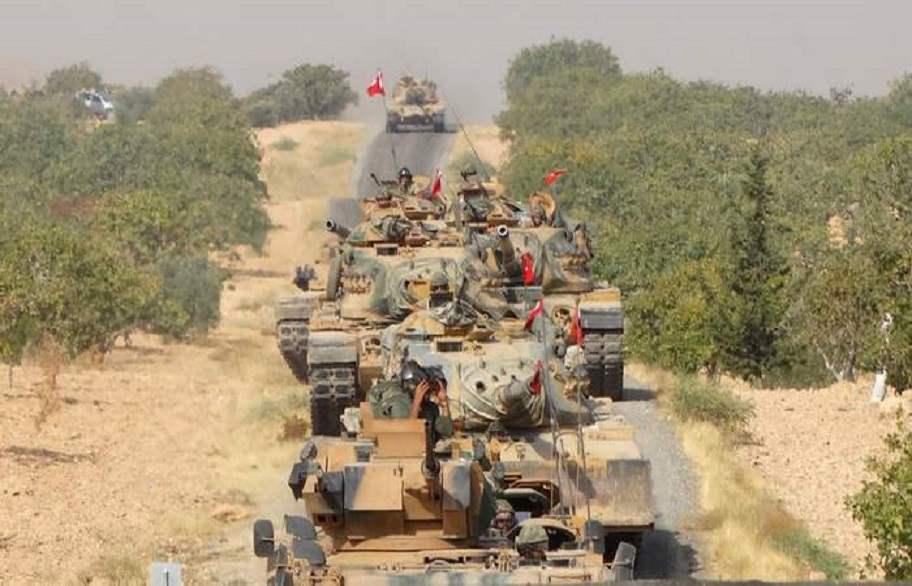 الجيش التركى ينتهك السيادة السورية فى عفرين
