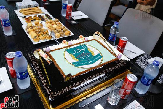 المستشار بهاء أبو شقة فى زيارة وندوة بـاليوم السابع (11)