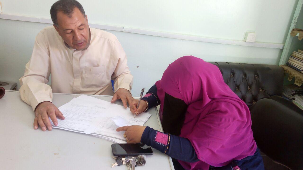 توقيع عقود شهادة أمان ببلاط