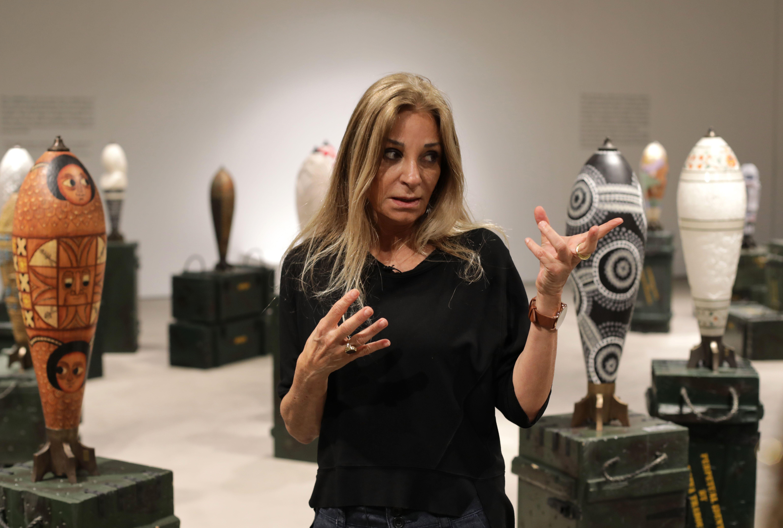 الفنانة اللبنانية طرابلسى