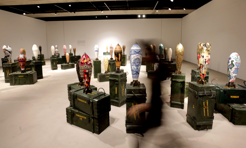 جانب من اعمال الفنانة اللبنانية طرابلسى