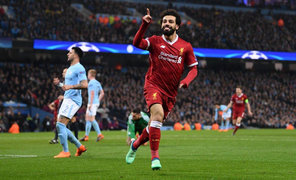 محمد صلاح قاد ليفربول لنصف نهائى أبطال اوروبا