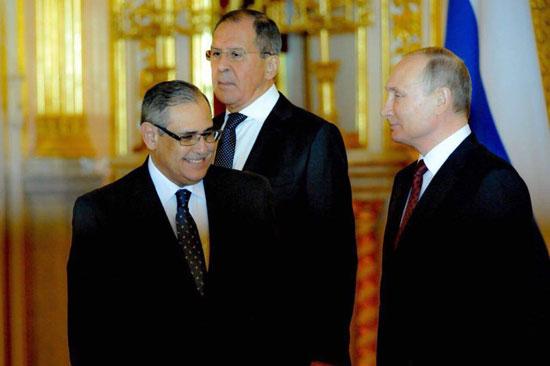 بوتين والسفير المصرى (2)