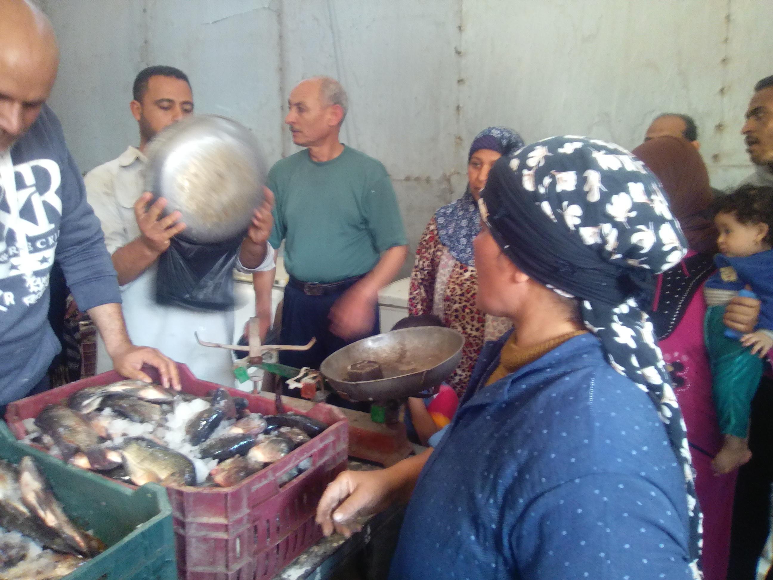 11- اقبال على شراء السمك