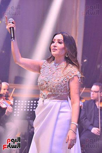صور لطيفة حفل صندوق تحيا مصر  (4)