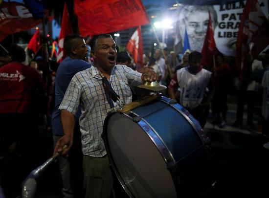 مظاهرات فى البرازيل دعمًا للرئيس السابق لولا دا سيلفا