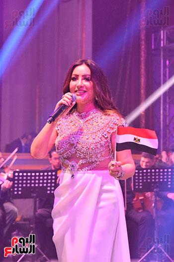 صور لطيفة حفل صندوق تحيا مصر  (40)