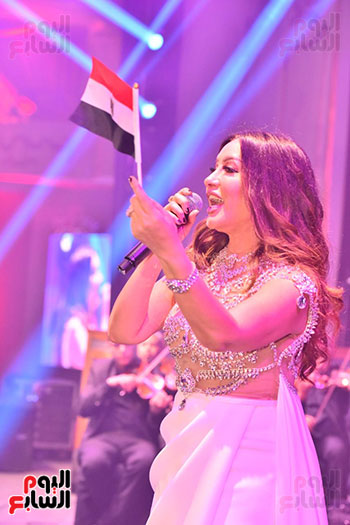صور لطيفة حفل صندوق تحيا مصر  (48)