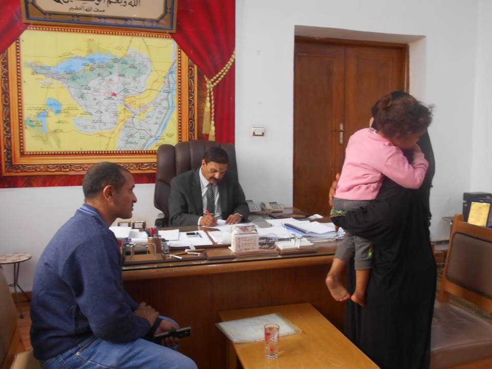 لقاء رئيس مدينة إطسا بالمواطنين (2)
