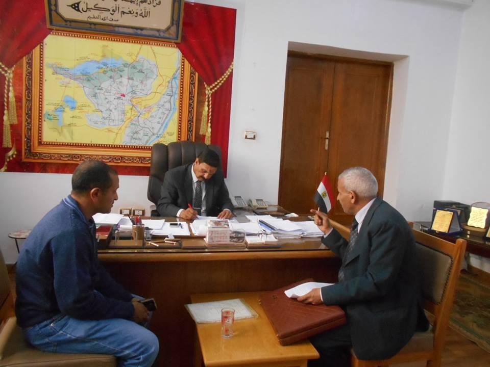 لقاء رئيس مدينة إطسا بالمواطنين (1)
