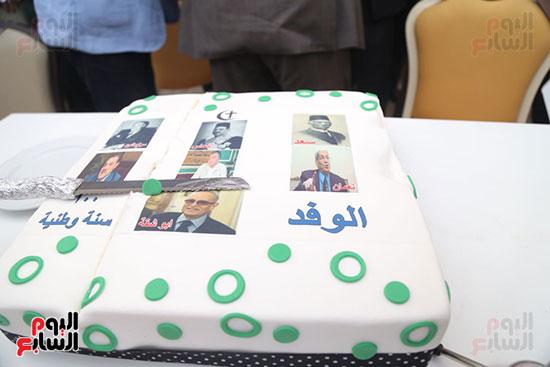 احتفالية حزب الوفد بفوز ابو شقة  (22)