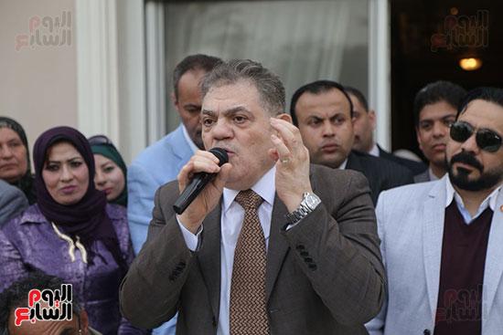 احتفالية حزب الوفد بفوز ابو شقة  (20)