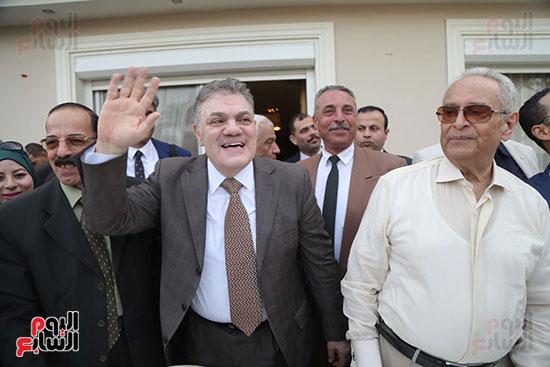 احتفالية حزب الوفد بفوز ابو شقة  (29)