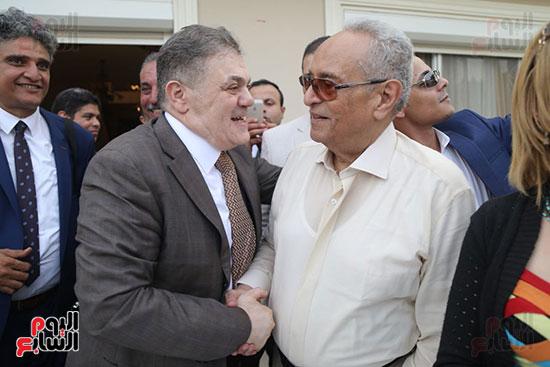 احتفالية حزب الوفد بفوز ابو شقة  (28)