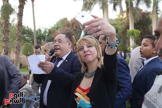 احتفالية حزب الوفد بفوز ابو شقة  (26)